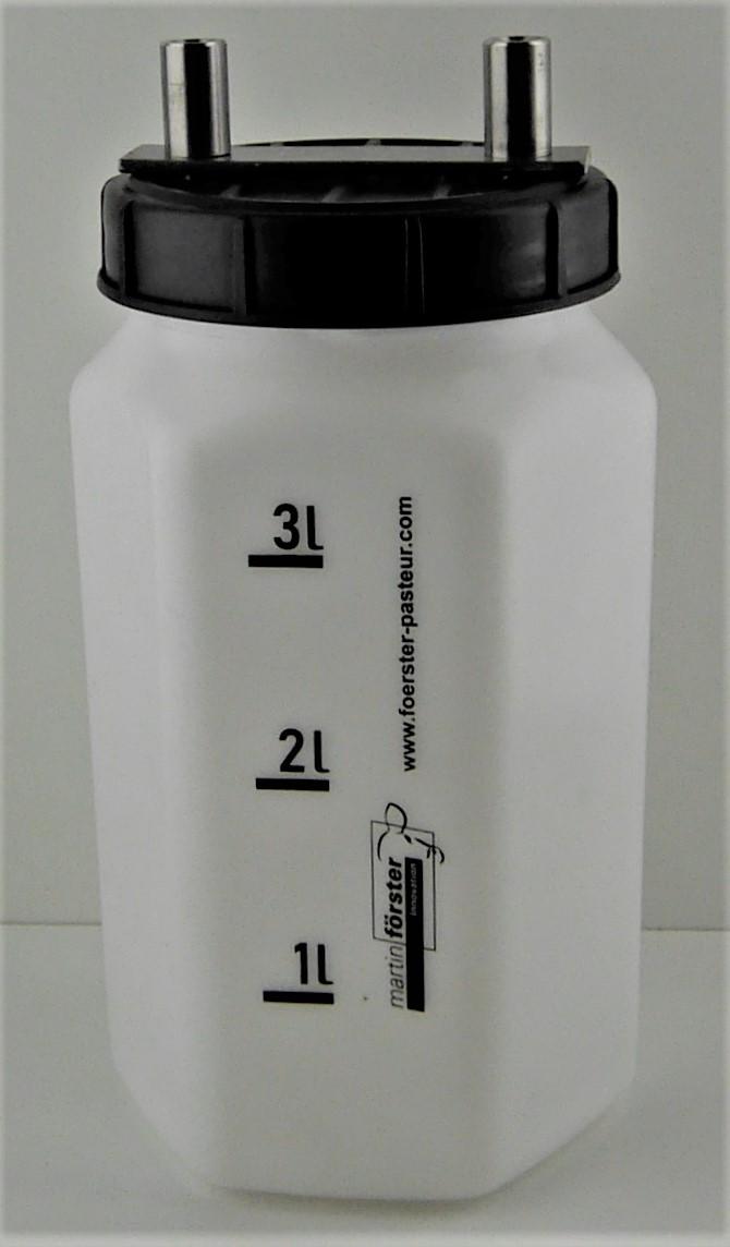 1060674 Flasche mit Deckel Vakuum schraeg hell